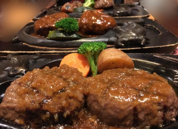 炭火レストランさわやか@浜松市【絶品★げんこつハンバーグ】