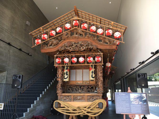 道の駅日光 木彫り神輿