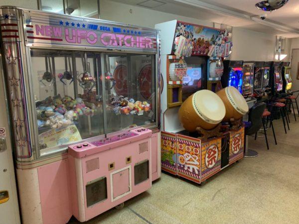 下田海浜ホテルゲームコーナー