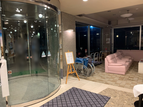 下田海浜ホテルロビー