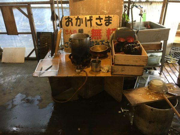 稲取港の朝市@静岡県東伊豆町【無料!きんめ鯛あら汁】