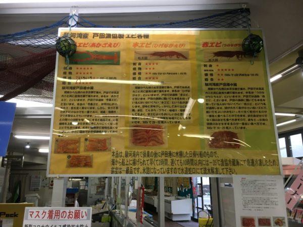戸田漁業協同組合 海産物直売所