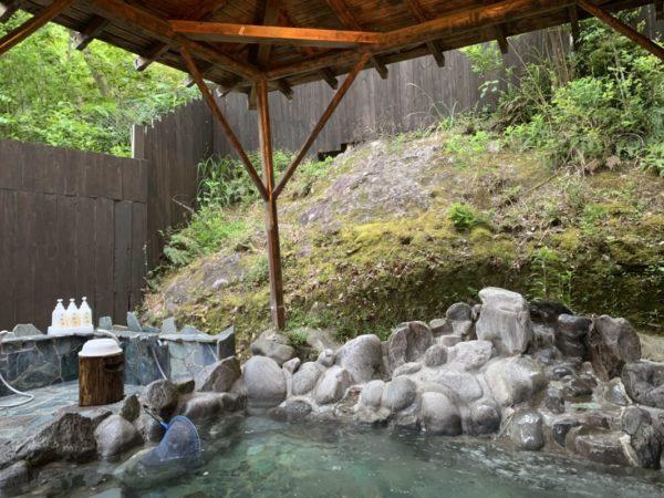 古民家の宿山海露天風呂