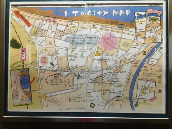 伊東市マップ