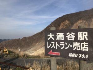 箱根大涌谷&芦ノ湖@神奈川【長生き黒たまご】