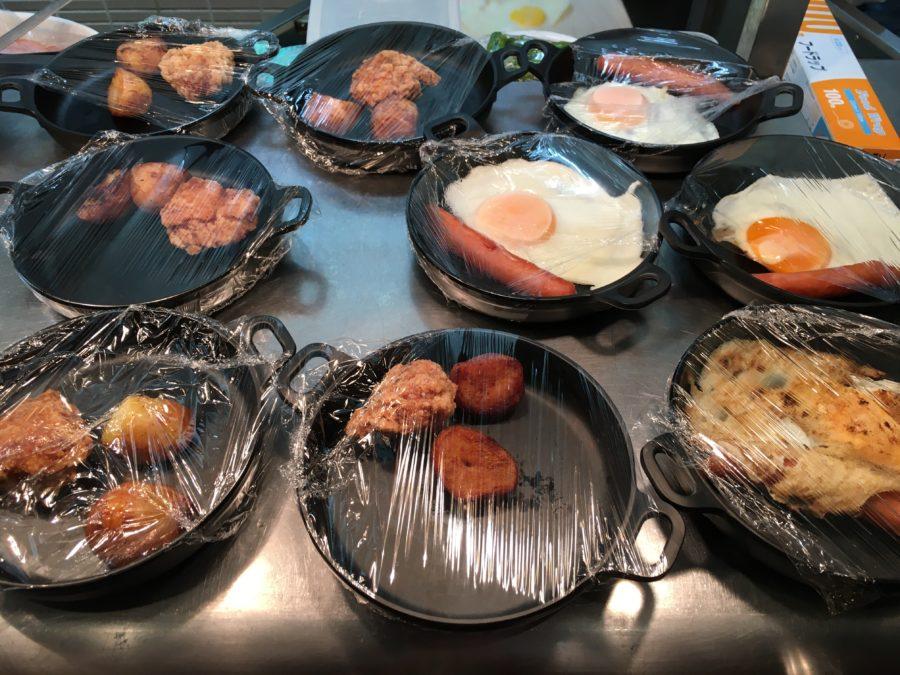ドーミーイン甲府夜朝食