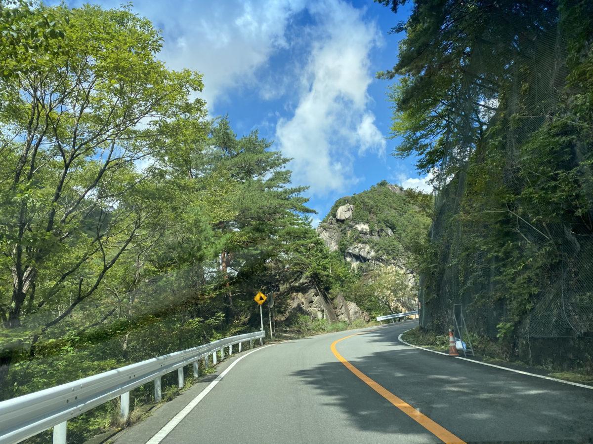 昇仙峡周辺