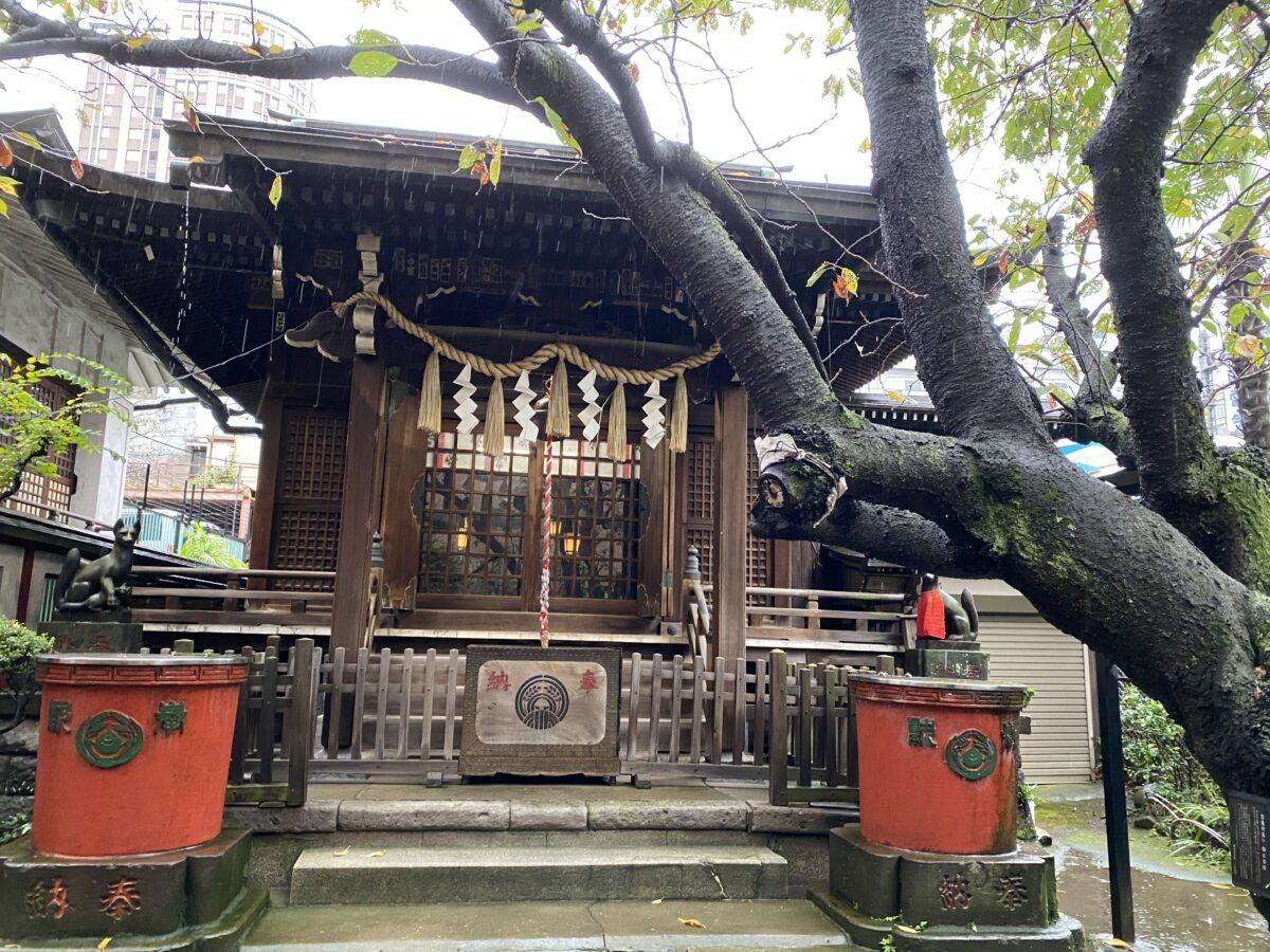 柳森神社@東京【あつまれ どうぶつの神社】