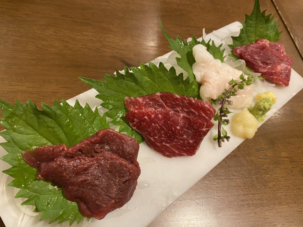 肉寿司蒲田西口店@東京【馬刺し飲み】