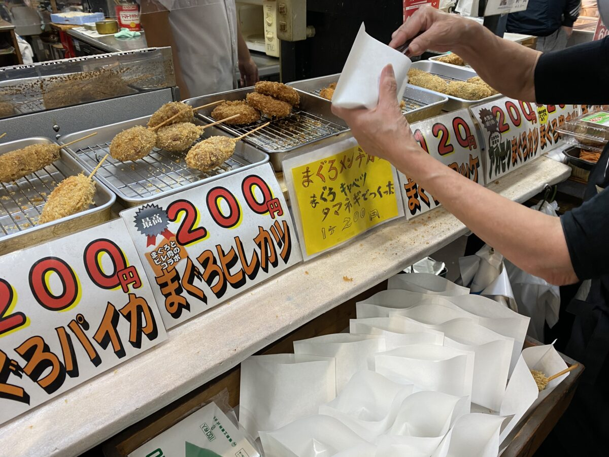 みうら・みさき海の駅@神奈川【食べる市場★うらりマルシェ】