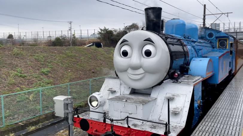 KADODE OOIGAWA門出駅@ 大井川鐵道【走る!機関車トーマス】
