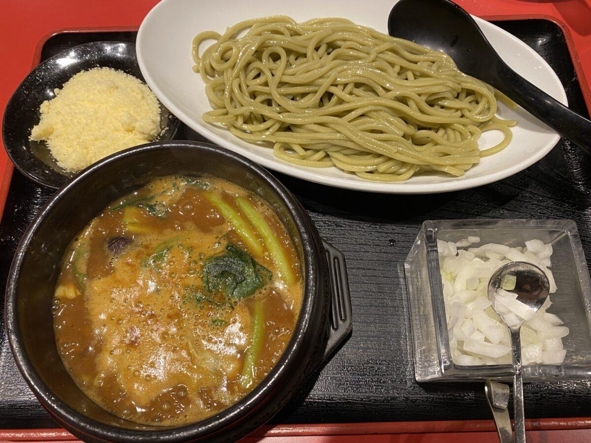 つけ麺工房浅草製麺所@東京【石鍋カレー味噌つけ麺】