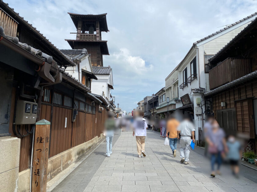 小江戸川越散策時の鐘